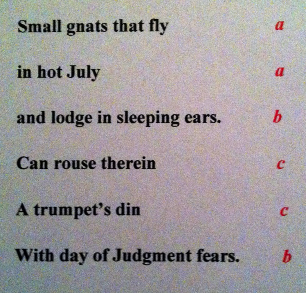 Poetry Terms Help Enrichment Ap English 12